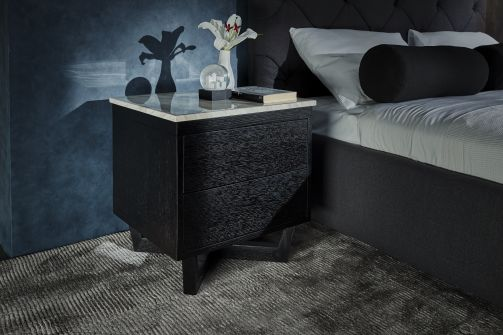Provence marble bedside table
