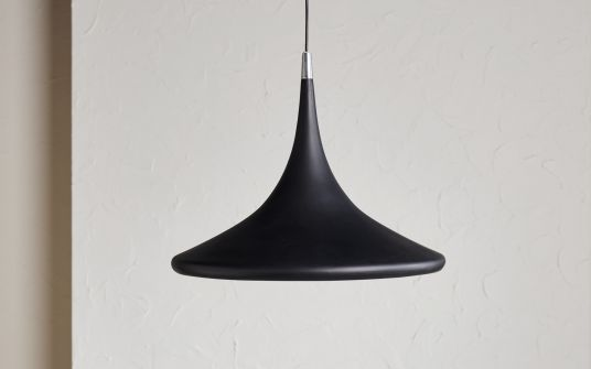 Colina Black Fibreglass Pendant