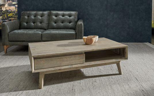 Agoura Coffee Timber Table