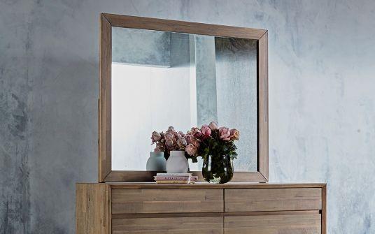 Agoura timber mirror