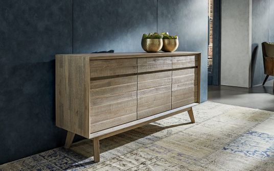 Agoura timber buffet with Storage