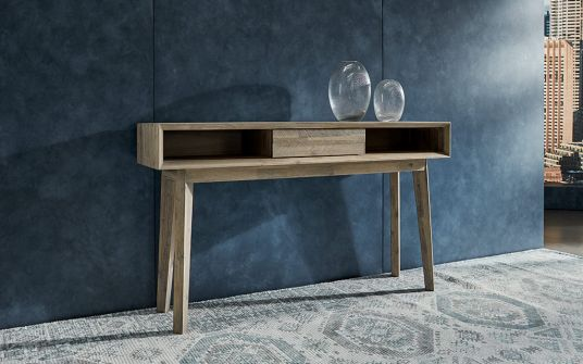 Agoura Timber Console with Storage