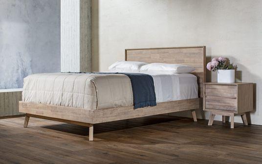 Agoura acacia timber bed frame