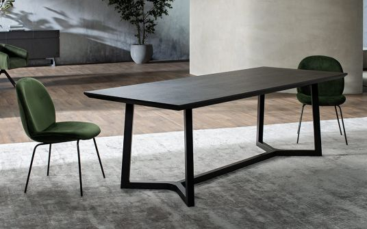 Aix-Timber-Dining-Table-In-Black