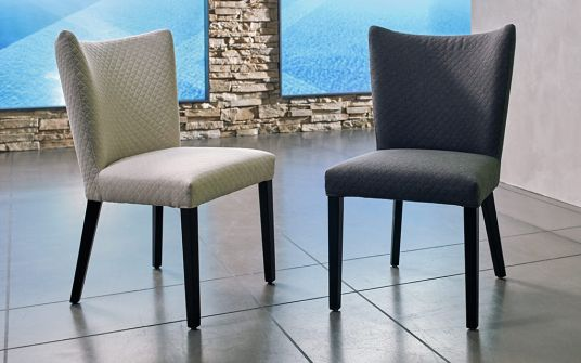 Charly & Claire Fabric Dining Chair