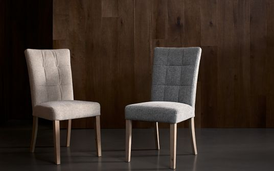 Cristy & Crispin Fabric Dining Chair