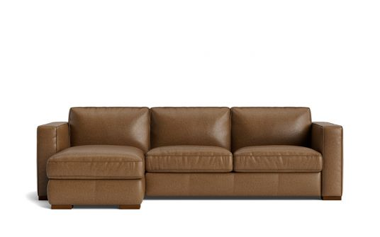 Minorca 2.5 seat sofa bed + left facing storage chaise