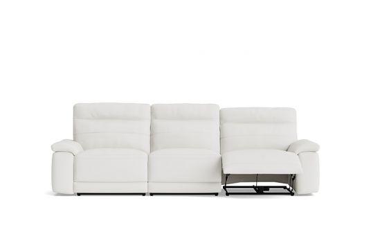 Kylie 3 seat dual manual recliner