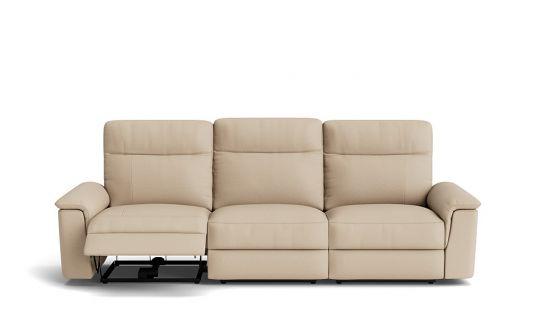 Julio 3.5 seat dual manual recliner