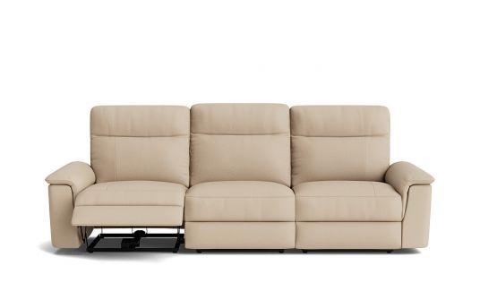 Julio 3.5 seat dual electric recliner