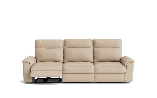 Julio 3 seat dual manual recliner