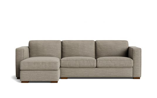 Marquise 2.5 seat sofa bed + left facing storage chaise