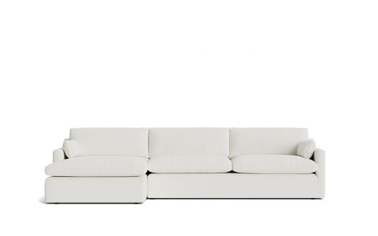 Dream 3 seat + left facing chaise