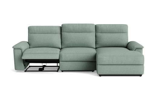 Legato 2.5 seat manual recliner + right facing chaise
