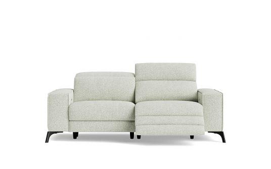Luigi 2.5 seat dual electric recliner + electric headrest (battery)