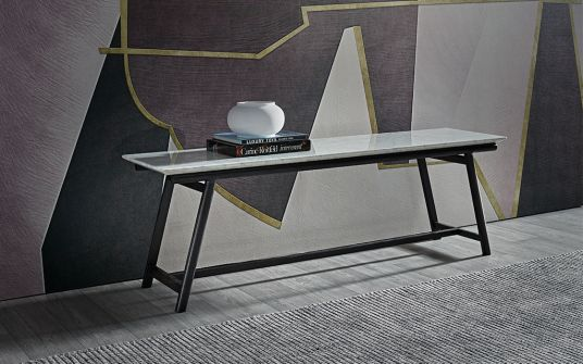 Dax Marble Timber Console