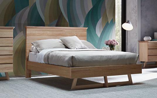 Jordana South American Eucalyptus timber bed frame