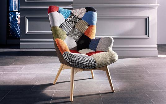 Judo patchwork armchair
