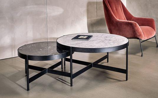 Muxia Carrara marble nest coffee table