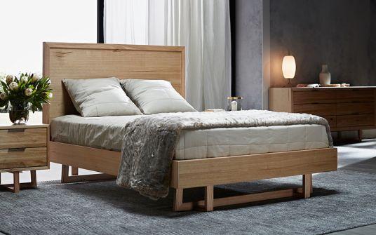 Padrone Australian oak bed frame