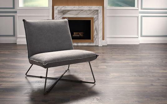 Regal fabric armchair